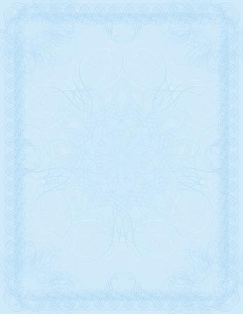 oorkonde: Vector certificaat achtergrond, vector Stock Illustratie