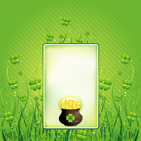Card for St. Patricks Day Vector