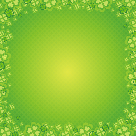 background for St. Patrick's Day, vector Stock Vector - 2486571