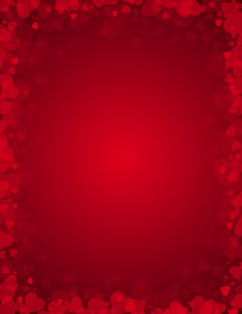 stylization: red background for valentines day, vector illustration Illustration