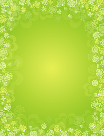background for St. Patrick's Day, vector Stock Vector - 2506118