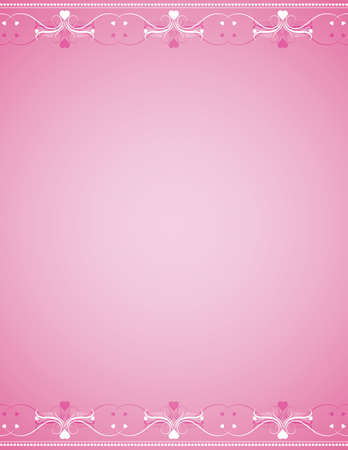 Vector valentine background, vector Vector
