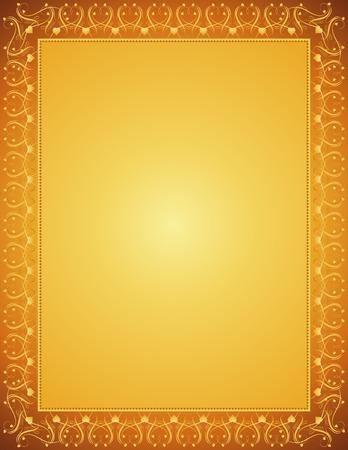 deed: certificado de antecedentes de oro, vector Vectores
