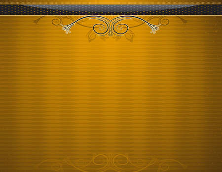 golden antique background, vector illustration Stock Vector - 2833267