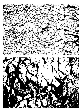 famine: black and white texture, background, vector illustration Illustration