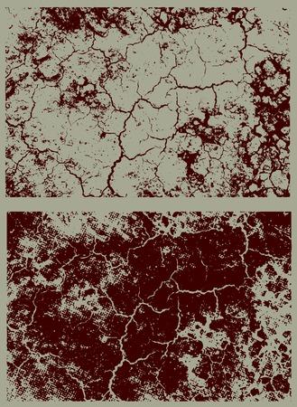 famine: brown texture Illustration