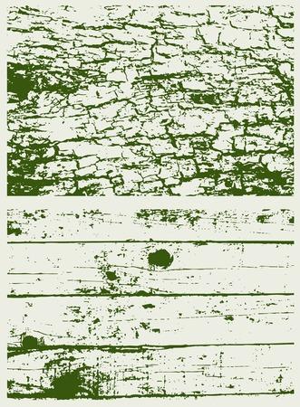 famine: green texture Illustration