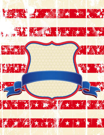 usa background and texture, vector illustration Vector