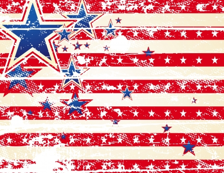 usa background and texture, vector illustration