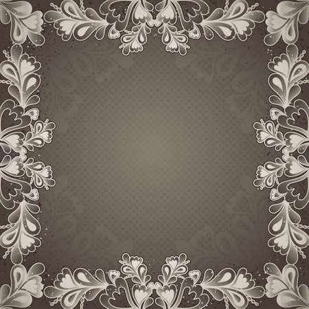grey antique background, vector illustration Vector