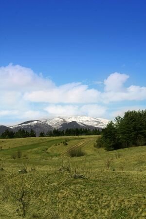 eminence: landscape from Bulgaria,mountain Rila