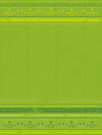 green grunge background for patricks day, vector illustration Stock Vector - 3074378