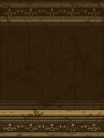 brown grunge background , vector illustration Vector