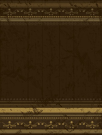 brown grunge background , vector illustration Vector