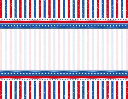 voting: USA Hintergrund mit Textur, Vektor-Illustration