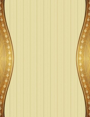 ornaments vector: beige background with decorative ornaments, vector illustration