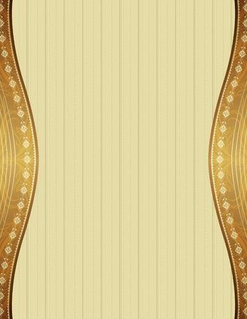 ornaments vector: sfondo beige con ornamenti decorativi, illustrazione vettoriale
