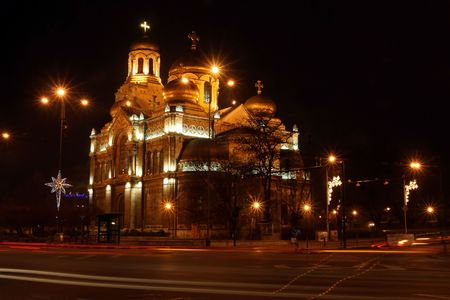 Cathedrals in Varna, Bulgaria photo