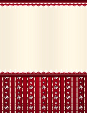 stylization: red  christmas background, vector illustration