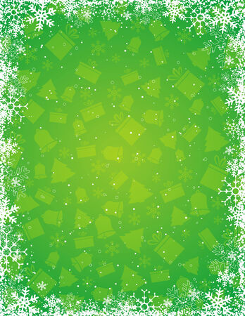 geen: geen grunge christmas background, vector illustration