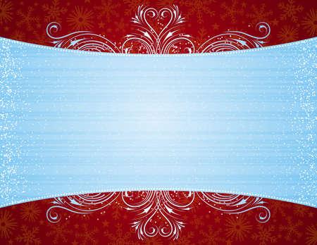 ornaments vector: sfondo blu con ornamenti decorativi, illustrazione vettoriale