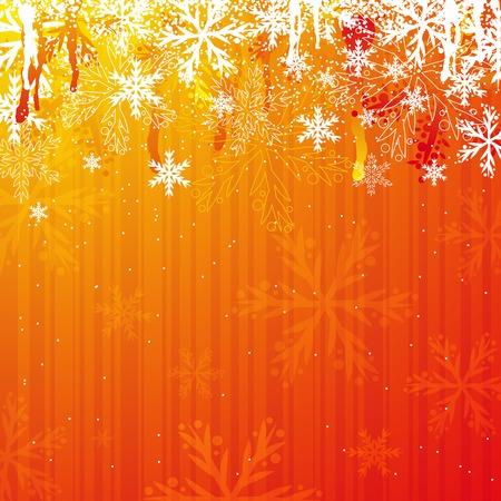 red christmas background, vector illustration Illustration