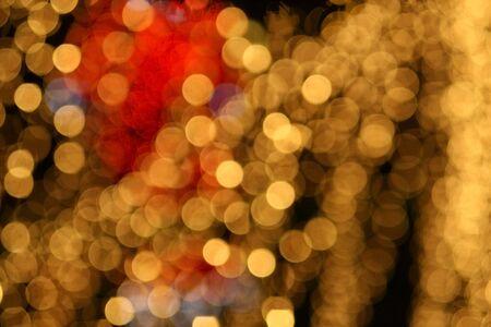 bright gold lights Stock Photo - 4126950