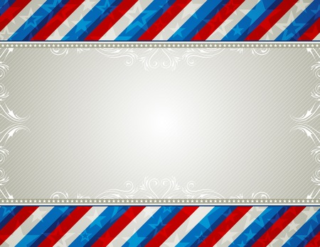 usa background with stars and  decorative frames Stock Vector - 4425670