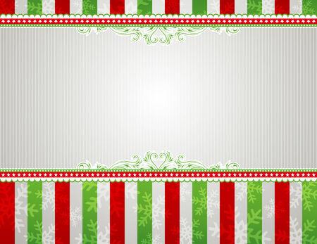 de fondo de Navidad con copos de nieve y marcos decorativos Foto de archivo - 5526148