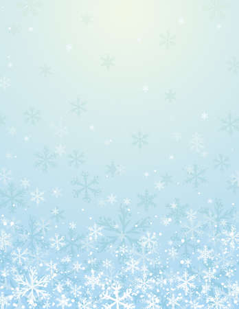 blue christmas background, vector illustration Vector