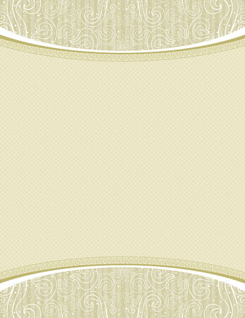 beige certificate background  Vector
