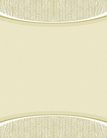 deed: Fondo de certificado beige