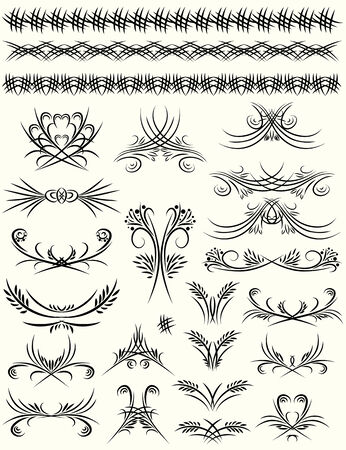 decorative  ornaments for design  Stock Vector - 7775066
