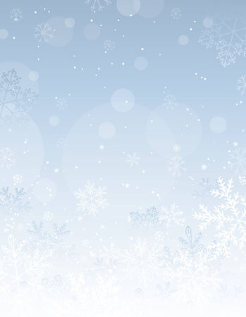 silver christmas: silver christmas background with snowflakes,  illustration