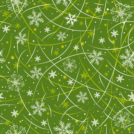 green wrapping christmas paper