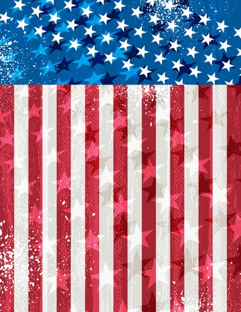 usa background  EPS10  Contains transparent objects Stock Vector - 12946481