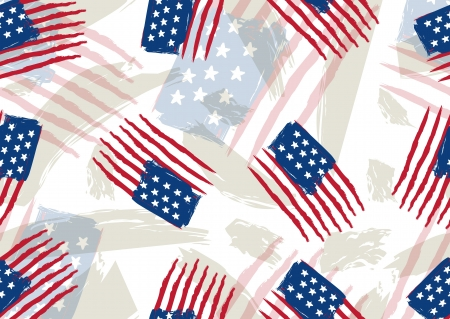 usa background , illustration. Contains transparent objects Vector