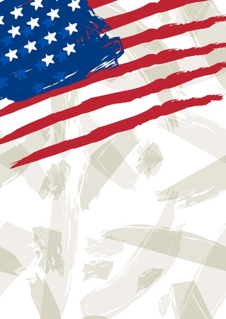 usa background  illustration Vector