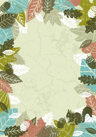 fancy floral wallpaper: background of hand draw leafs