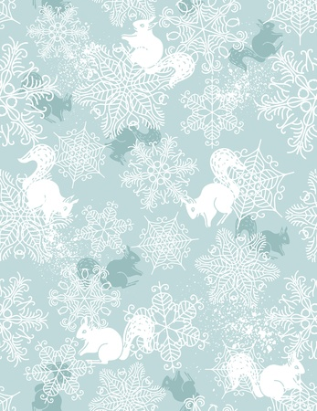 background with christmas elements suitable wrapping paper Vector