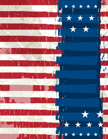 abstract usa background, vector illustration Vector