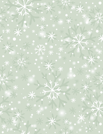 in vain: beige background with snowflakes,  illustration