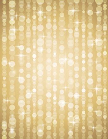 golden brightnes illustration suitable for christmas or disco backround, vector illustration Vector