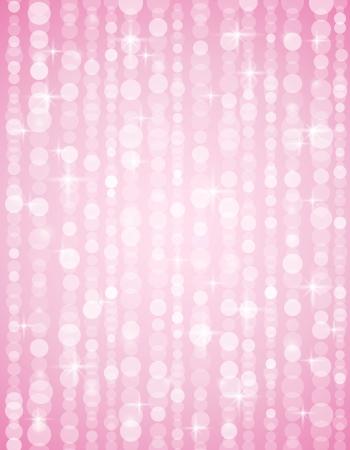 lustre: pink defocused brightnes  background. Bright bokeh. Vector illustration