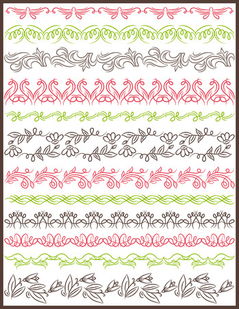 Set of Lace Paper with flower