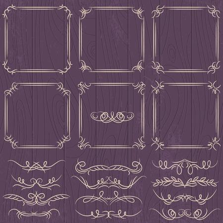 bordi decorativi: bordi decorativi floreali, regole ornamentali, divisore