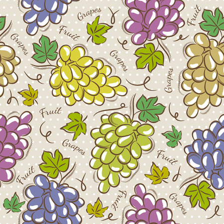 scrap booking: Background with grapes. Ideal for printing onto fabric and paper or scrap booking.