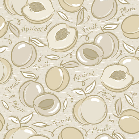 booking: Background with apricot, plum and peach Ideal for printing onto fabric and paper or scrap booking.