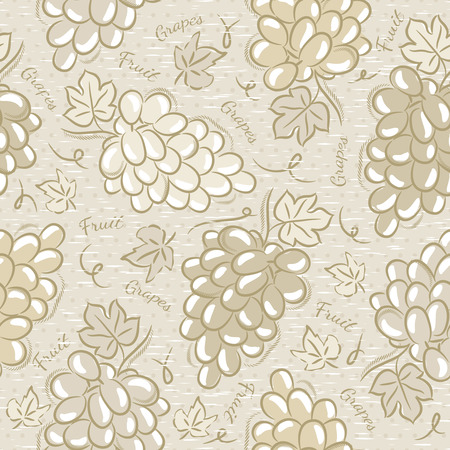 scrap: Background with grapes Ideal for printing onto fabric and paper or scrap booking.