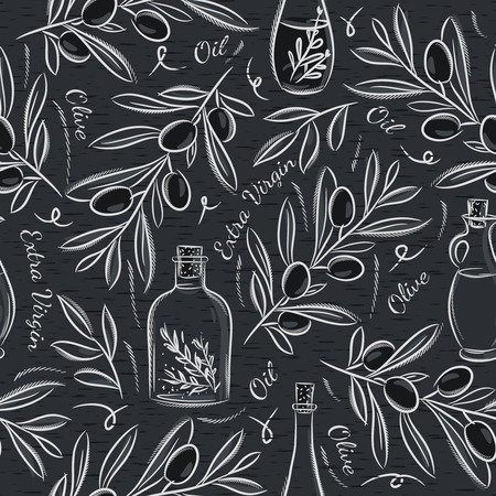 scrap booking: Black blackboard with olive. Ideal for printing onto fabric and paper or scrap booking.